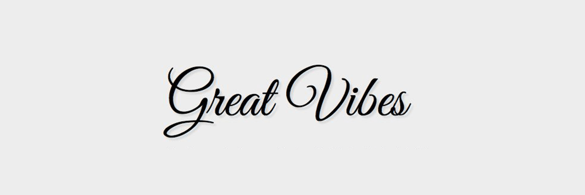 great-vibes The 10 Best Script and Handwritten Google Fonts design tips