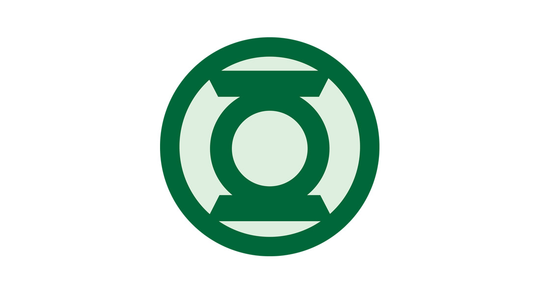 green lantern logo template