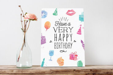 20+ Best Greeting Card Templates for Word, Photoshop, & Illustrator