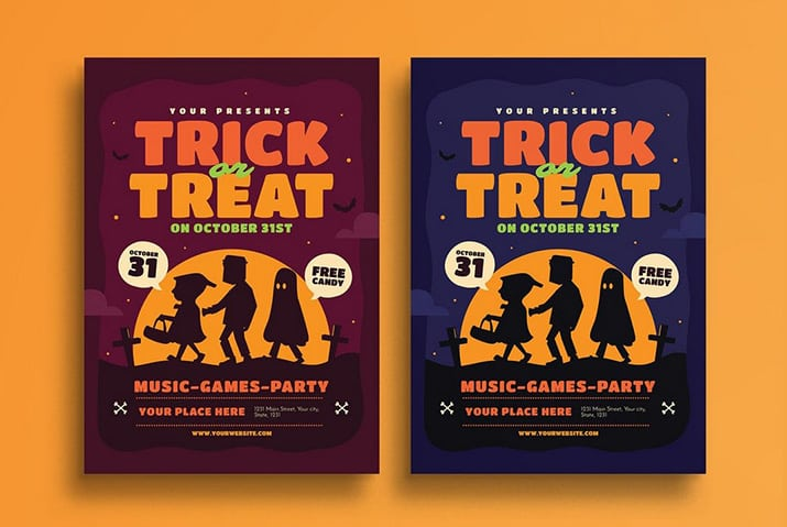 20 halloween flyer templates design shack