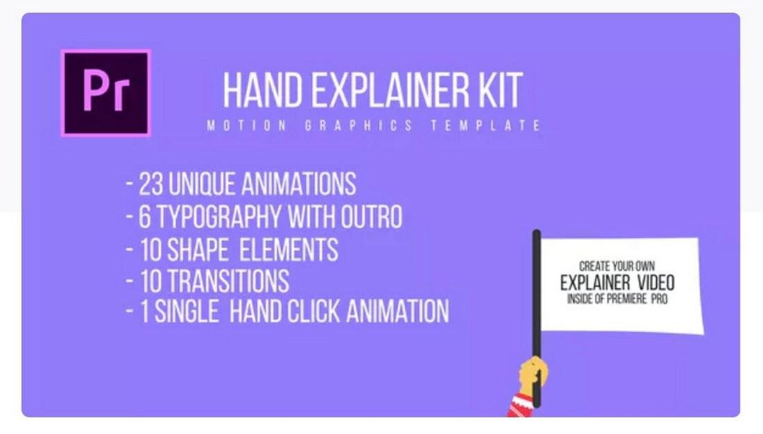 hand-explainer-premiere-pro-template 30+ Best Premiere Pro Templates 2019 design tips