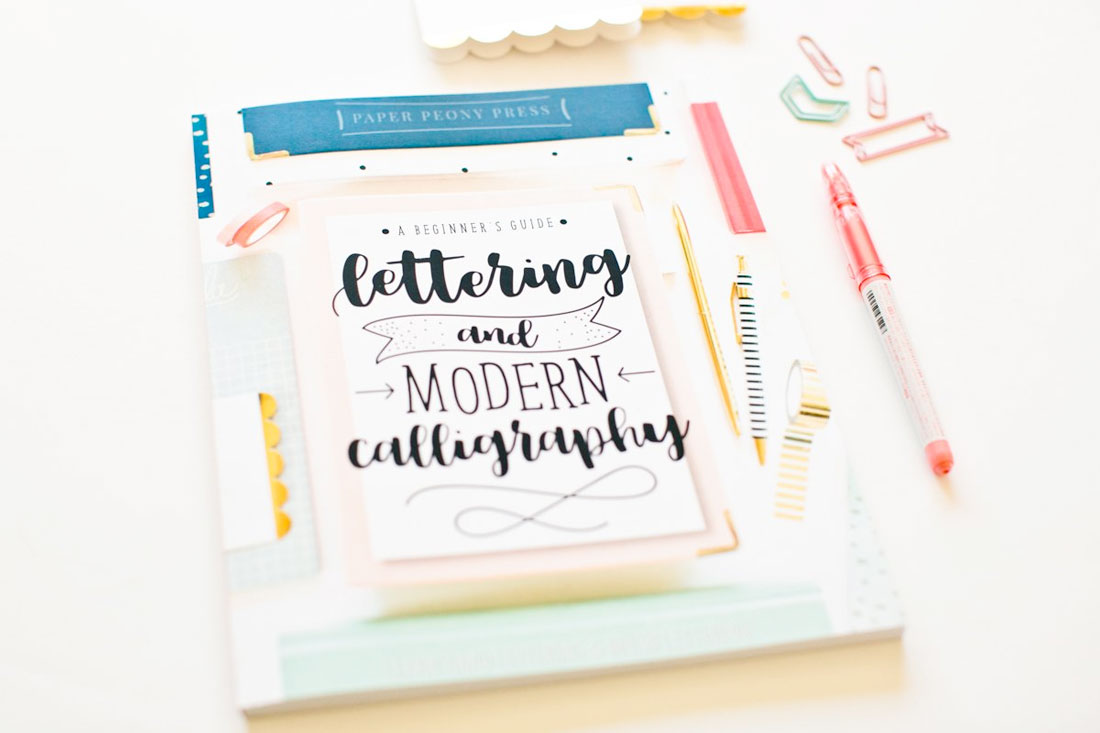hand-lettering The 2018 Christmas & Holiday Gift List for Designers design tips