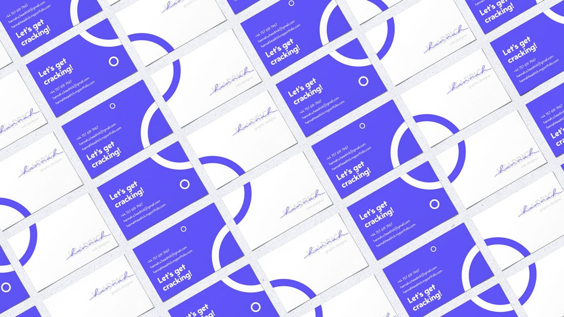 hannah What to Put on a Business Card: 8 Creative Ideas design tips