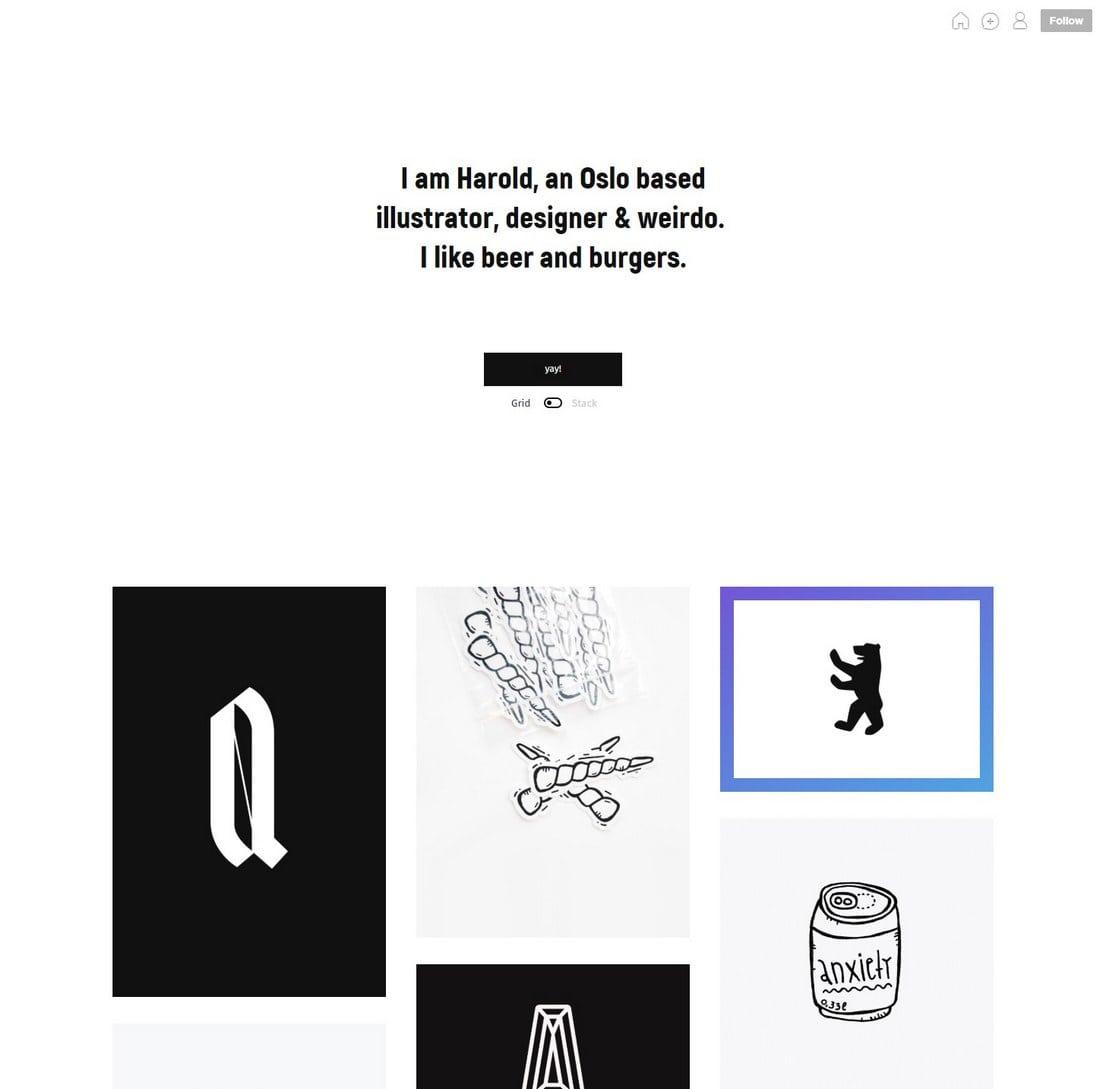 harold-tumblr-theme 50+ Best Free & Premium Tumblr Themes 2018 design tips