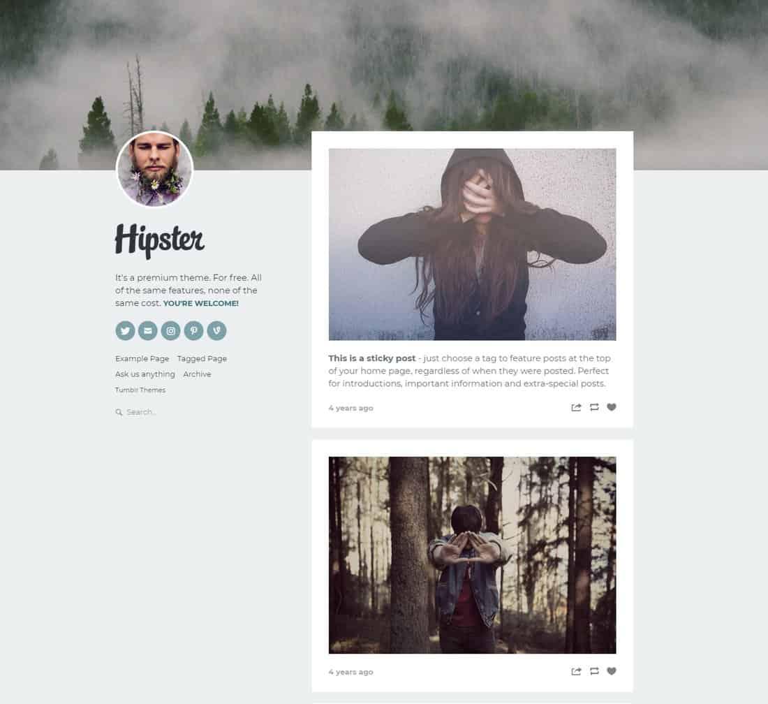 hipster-free-tumblr-theme