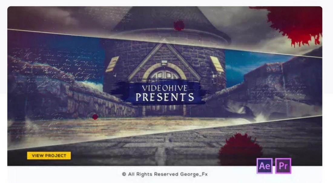 history-slideshow-premiere-pro-template 30+ Best Premiere Pro Templates 2019 design tips