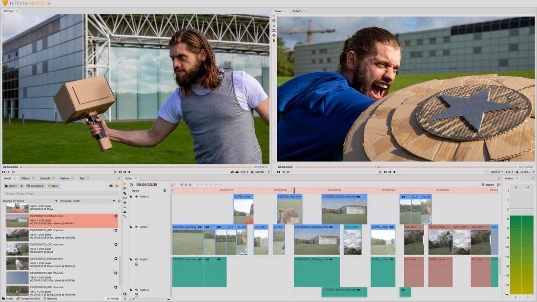 hitfilm-express-2 5 Best iMovie Alternatives (For Mac & Windows) 2021 design tips