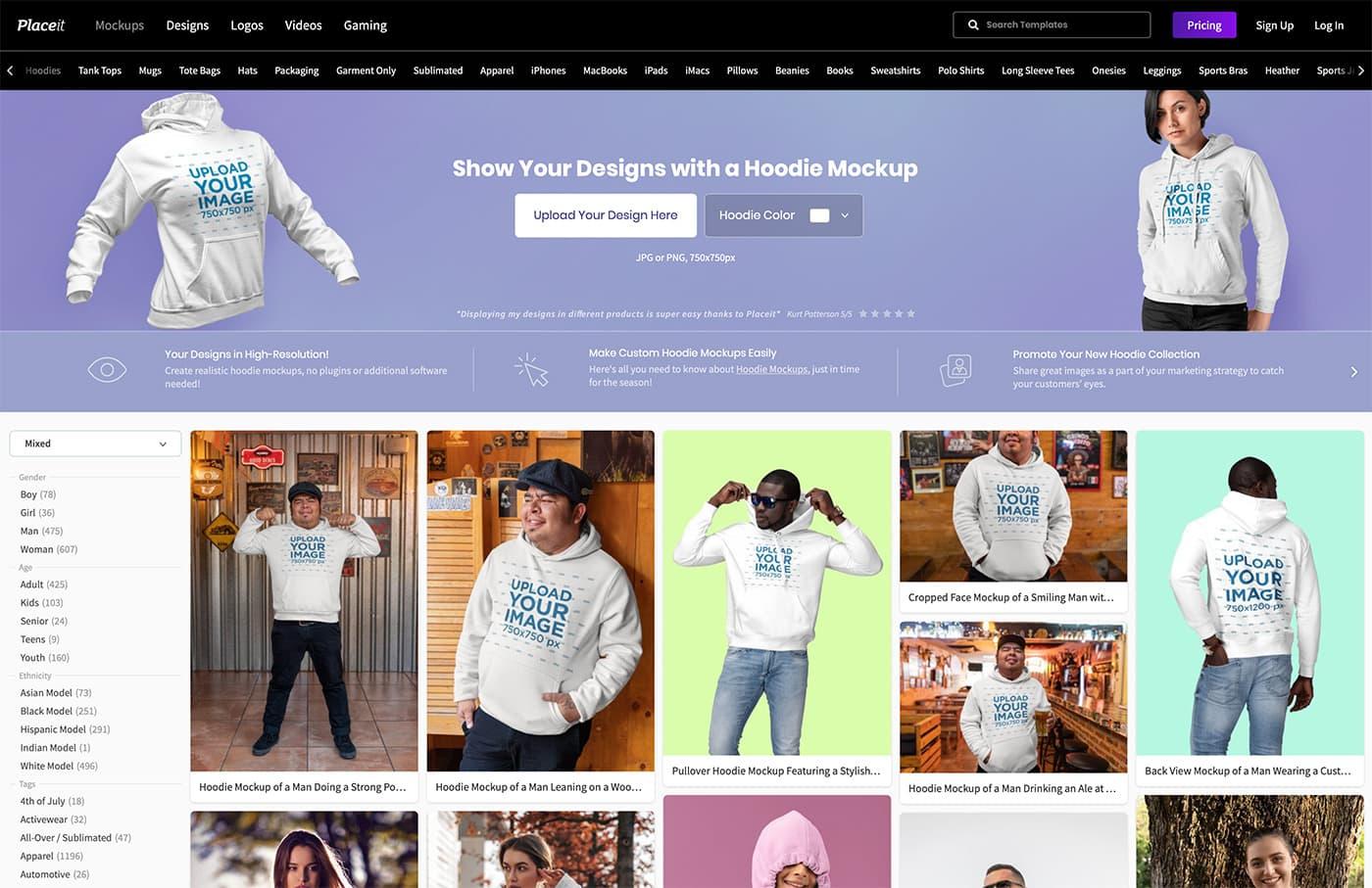 hoodie-mockup-generator 20+ Hoodie Mockup Templates (Free & Premium) design tips  Inspiration