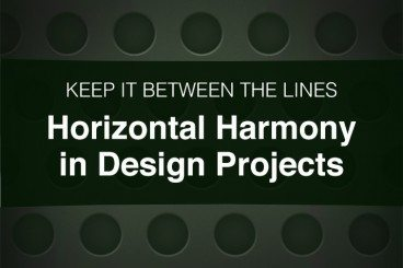 Horizontal Harmony in Design: Keep It Between the Lines