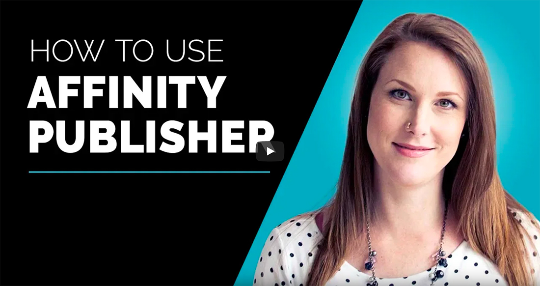 affinity publisher tutorials