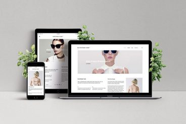 How to Customize a Website Mockup Template