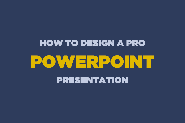 how to design a professional powerpoint presentation design shack