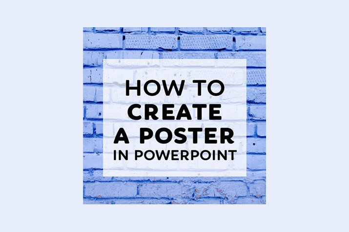 How to Make a Poster in PowerPoint: 10 Simple Steps | Design