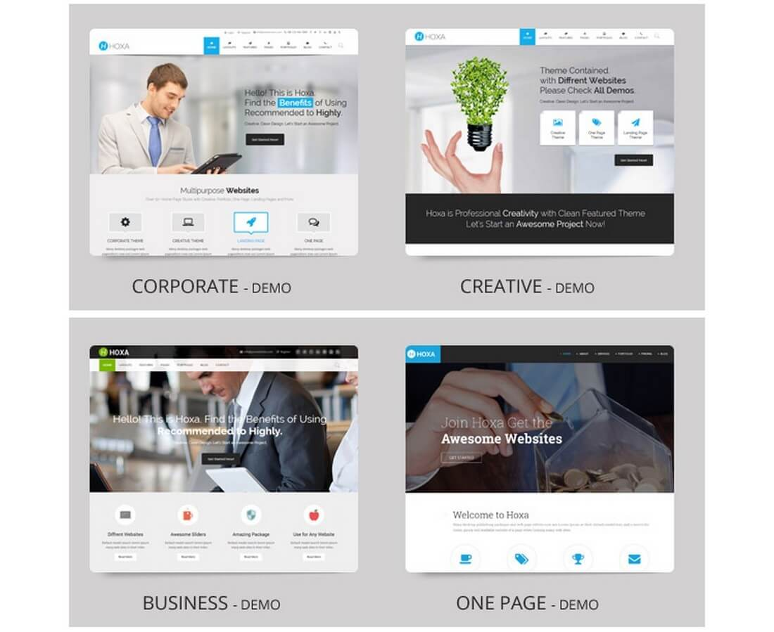 20+ Corporate & Business HTML Templates | Design Shack