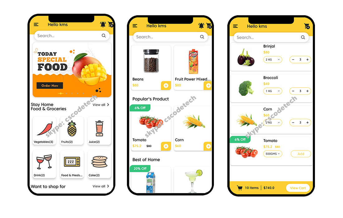 hungry-app 20+ Best Android App Templates (For Mobile Apps) 2021 design tips