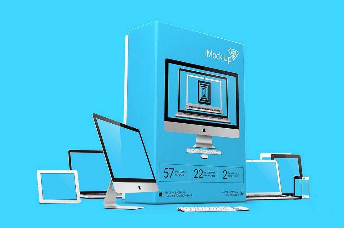 iMockUp-Super-Pack 40+ iMac Mockup PSDs, Photos & Vectors design tips