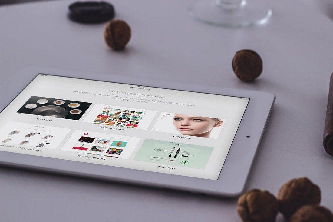 iPad-Air-Display-Web-App-Mockup 20+ Best Responsive Website & App Mockup Templates design tips