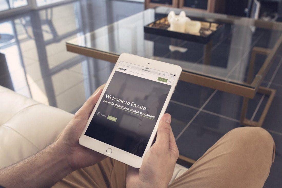 iPad-Mini-4-Around-the-House-Mockup 100+ iPad Mockups: PSDs, Photos & Vectors design tips