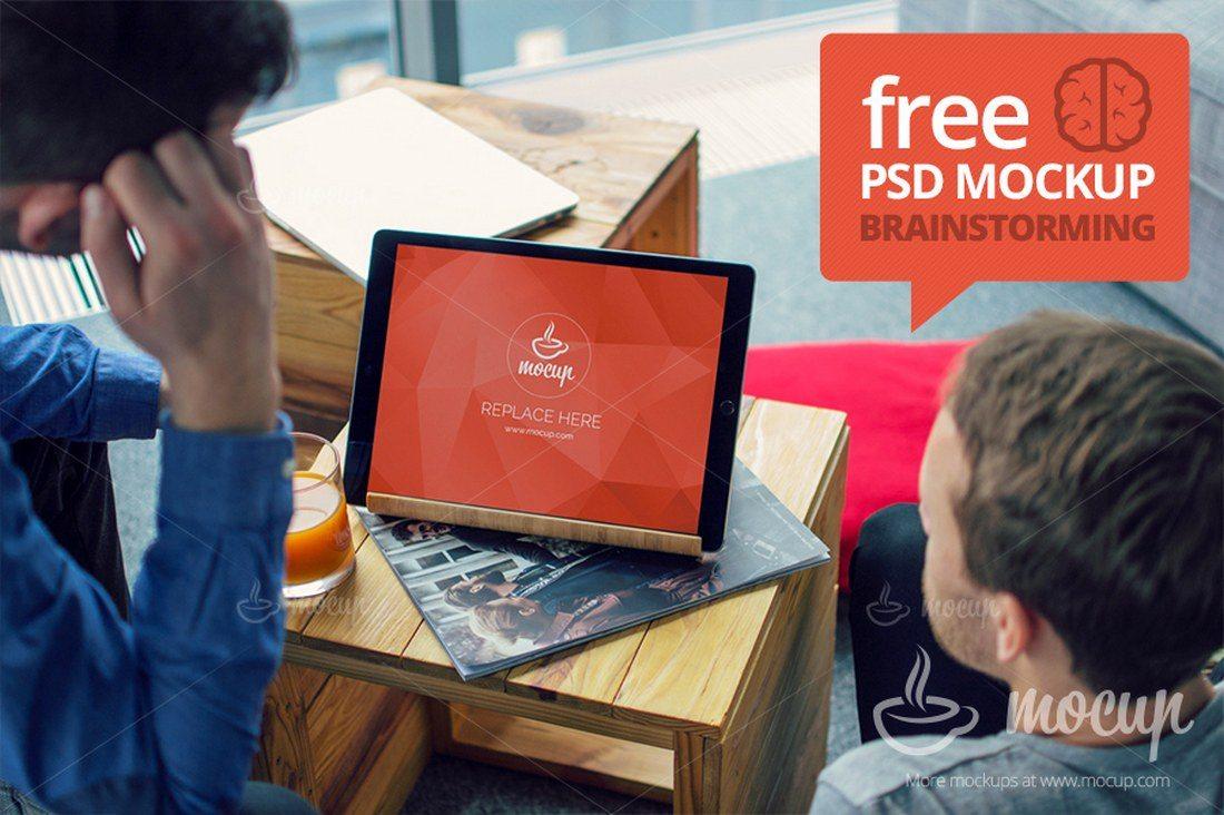 iPad-Pro-Brainstorming-Mockup 20+ Best iPad Pro Mockups 2020 (Free & Premium) design tips  Inspiration|iPad pro|mockup