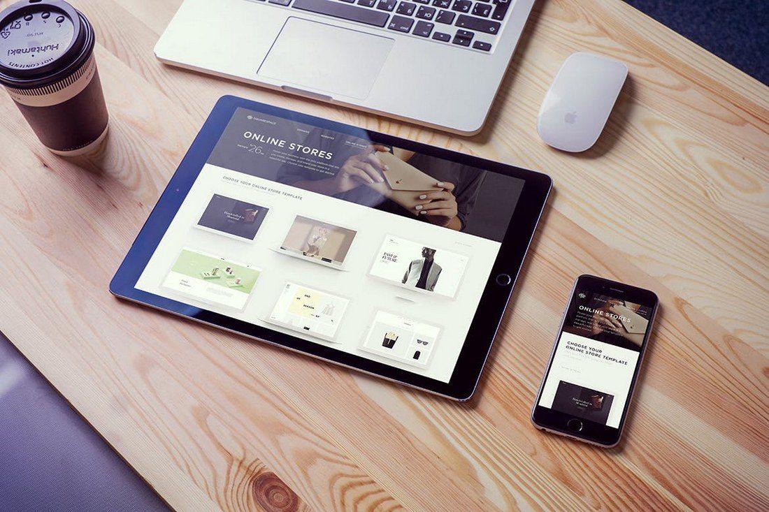 iPad-Pro-On-Desk-Mockup 20+ Best iPad Pro Mockups 2020 (Free & Premium) design tips  Inspiration|iPad pro|mockup