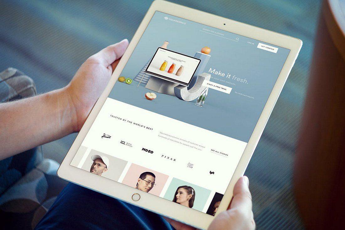 iPad-Pro-with-Hands-Mockup 20+ Best iPad Pro Mockups 2020 (Free & Premium) design tips  Inspiration|iPad pro|mockup