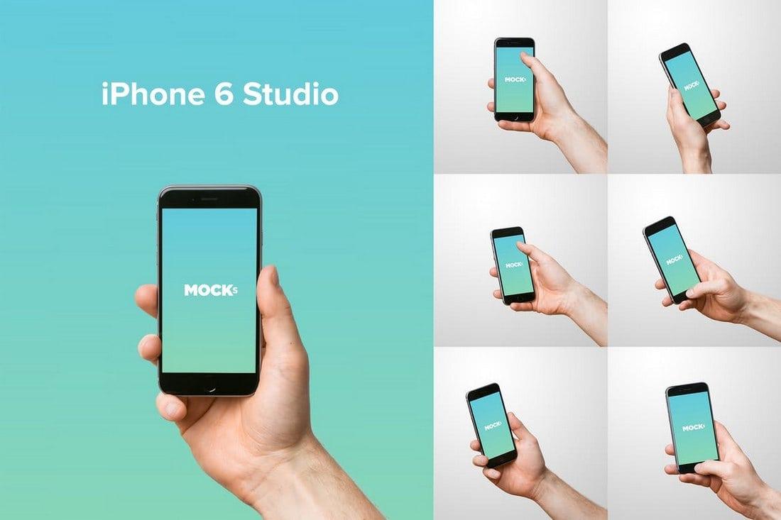 iPhone 6 Studio Mockups