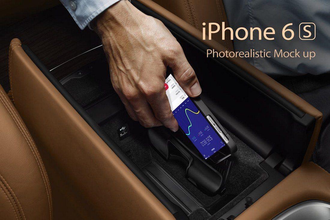 iPhone-6s-Photorealistic-Mockups 100+ iPhone PSD & Vector Mockups design tips