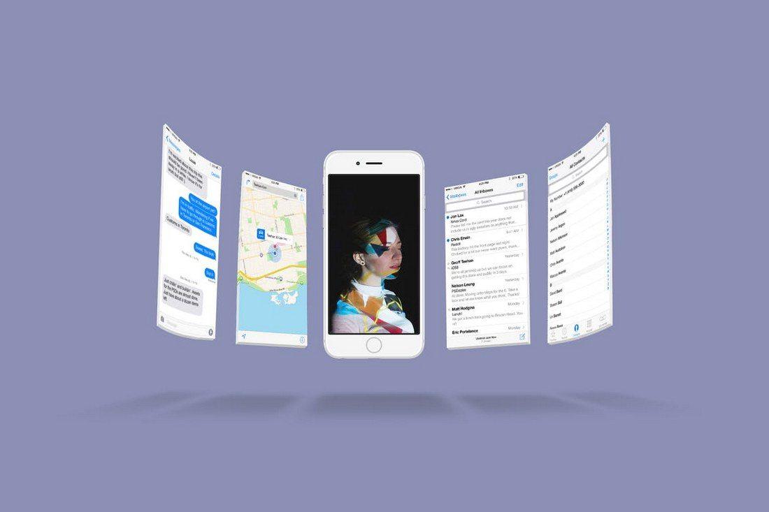 iPhone-6s-Screen-Mockup-1 20+ Best Responsive Website & App Mockup Templates design tips