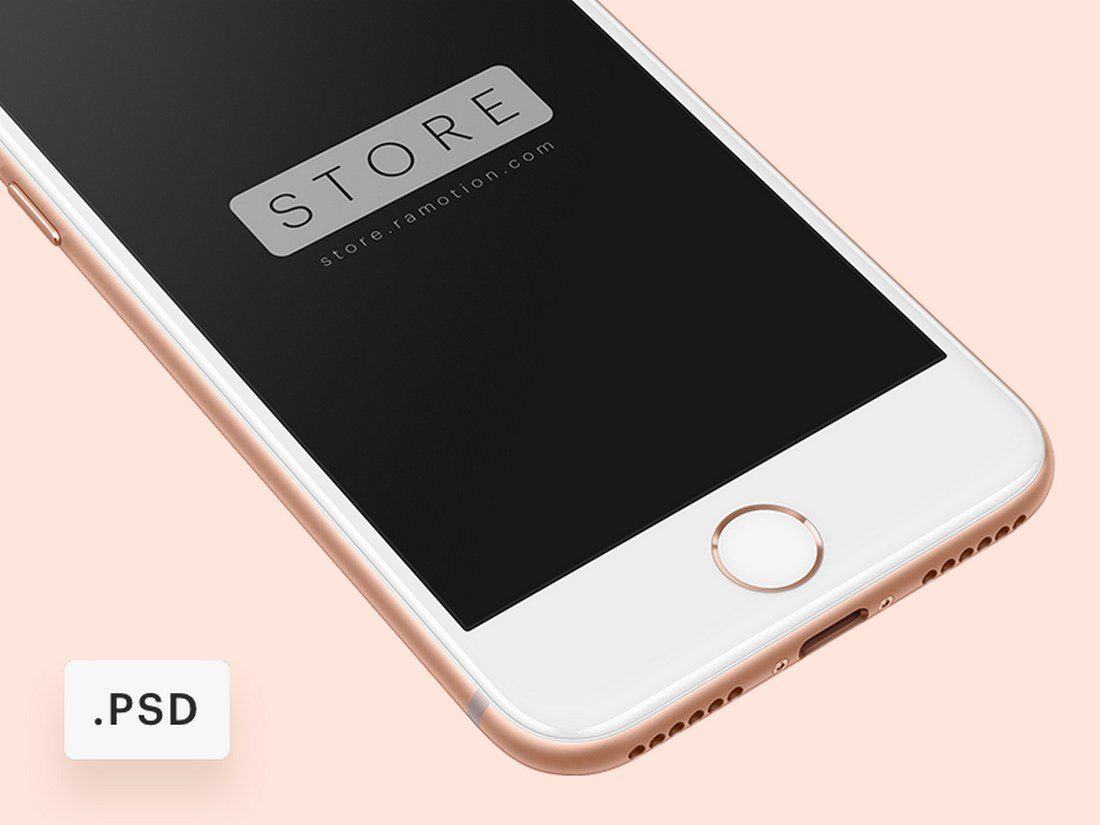 iPhone-8-Free-Mockup 20+ Best iPhone 8 Mockups design tips