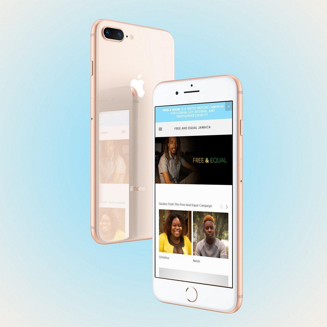 iPhone-8-Plus-screen-showcase-Mockup 20+ Best iPhone 8 Mockups design tips