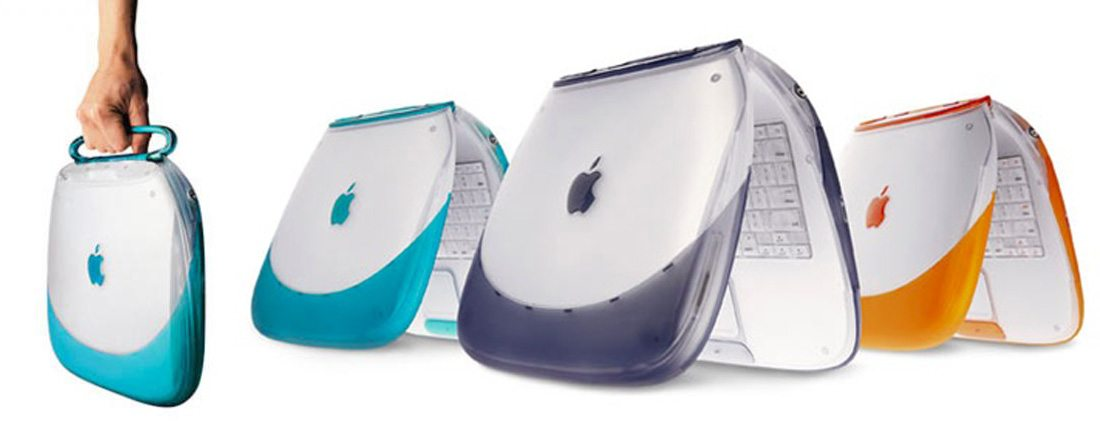 ibook 10 Examples of Timeless Apple Design design tips
