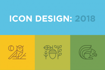 Design articles inspiration guides design shack icon design in 2018 the key trends reheart Gallery