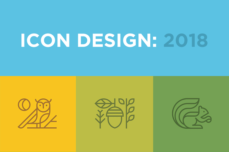Icon Design in 2018: The Key Trends