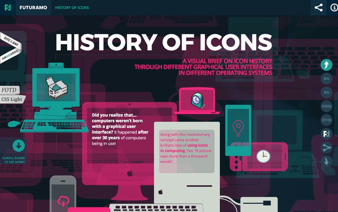 icon-history 7 Tips For Effecive Use Of Icons In Ddesign Projects