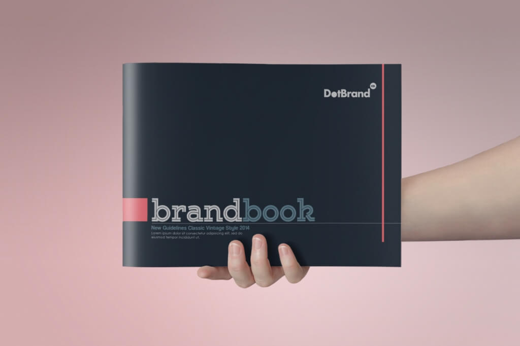 the classic brand guidelines template