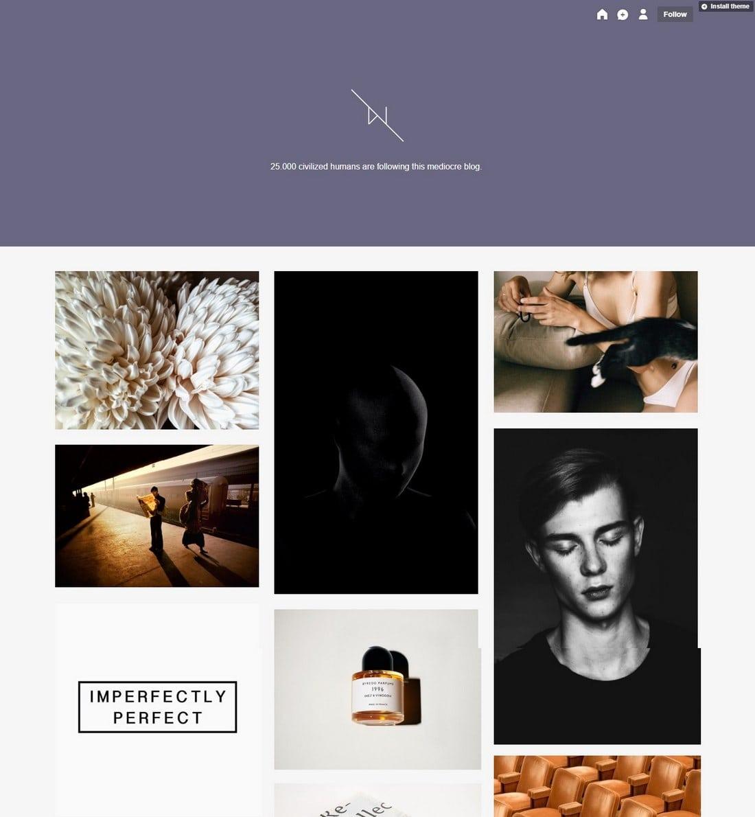 imnotwordy-tumblr-theme 50+ Best Free & Premium Tumblr Themes 2018 design tips