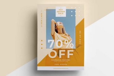 20+ Best InDesign Flyer Templates