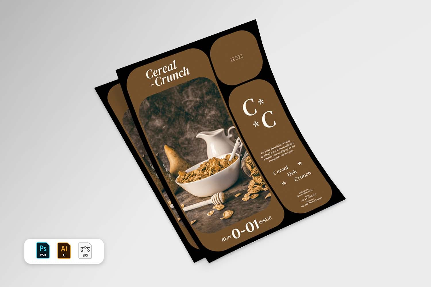 indesign flyer templates