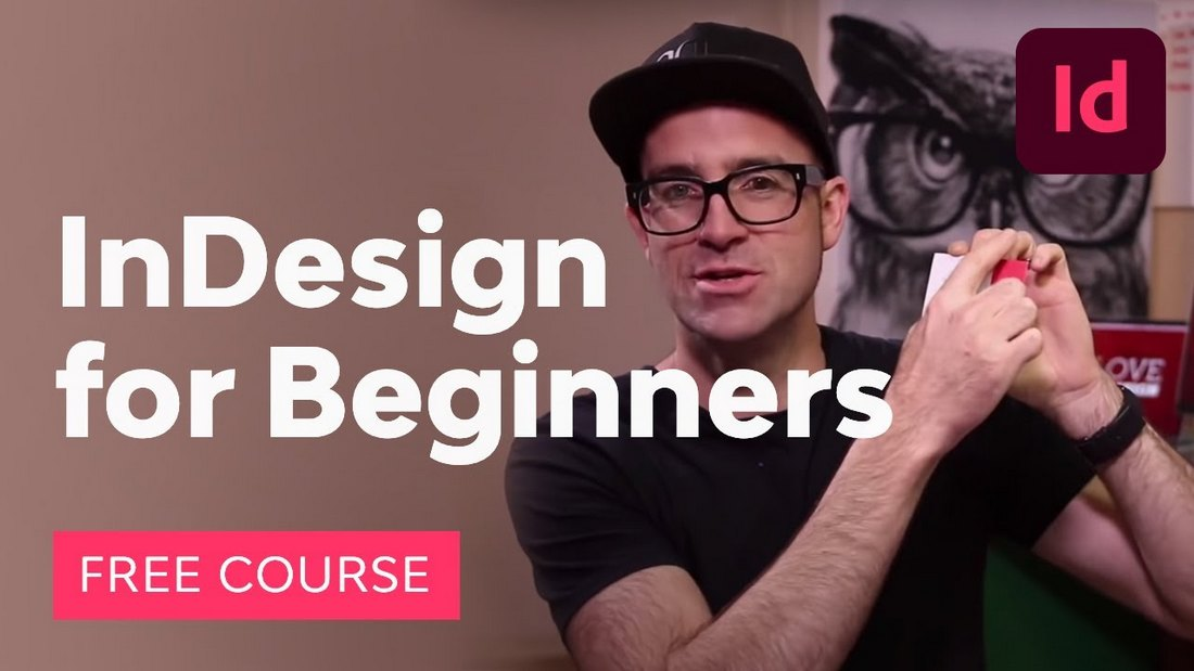 indesign for beginners course