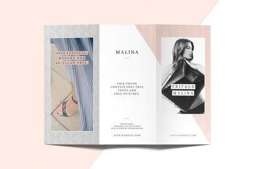 20+ Best InDesign TriFold Templates 2020