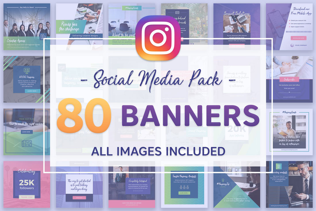 insta-banners How to Boost Your Social Media Presence With Templates design tips