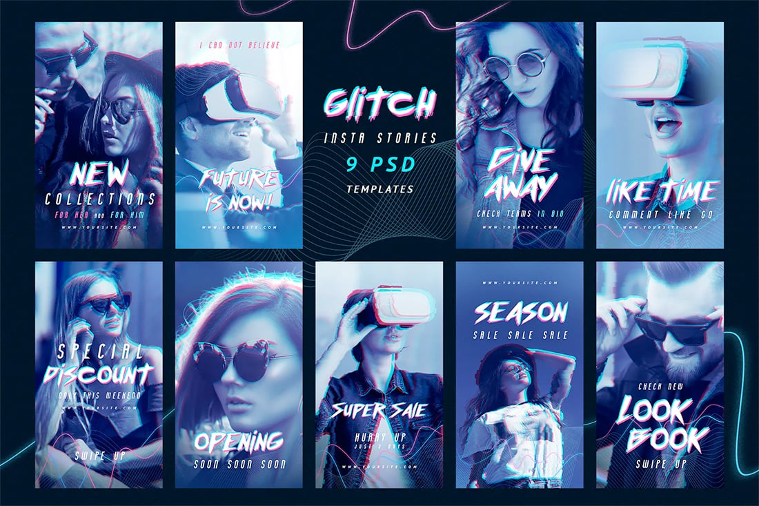 insta-glitch Instagram Story Design: 7 Pro Tips & Ideas design tips  Graphics|design|Inspiration|instagram