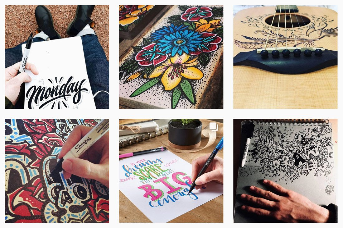 insta-sharpie 5 Tips to Use Instagram Creatively for Your Brand design tips