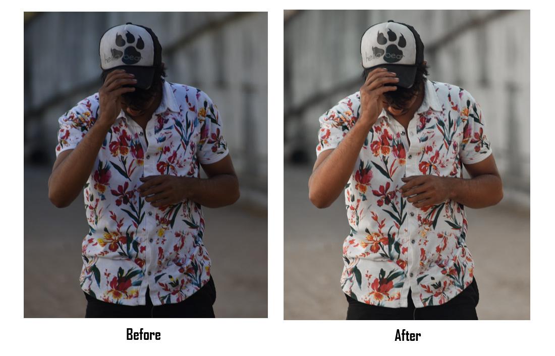 instagram lightroom editing before after