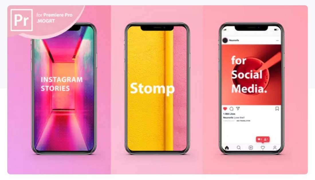 instagram-story-stomp-premiere-pro-template 30+ Best Premiere Pro Templates 2019 design tips