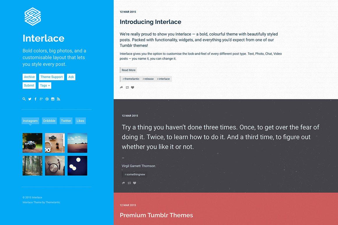 interlace-tumblr-theme