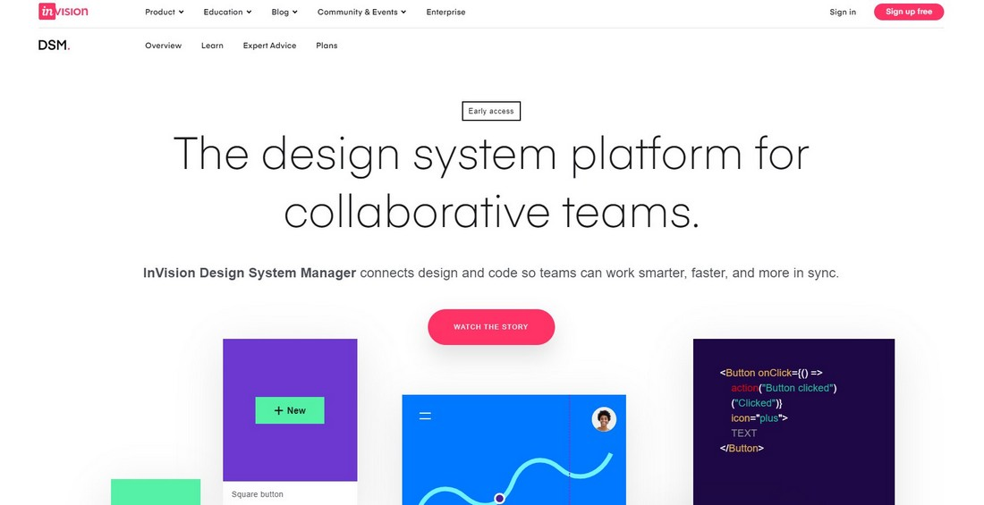 invision-1 What Is a Design System & Why Use Them + Examples design tips