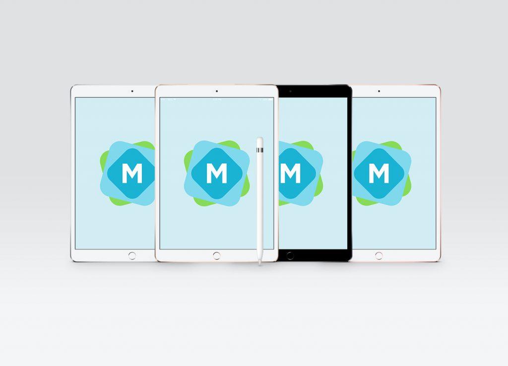 ipad-pro-10-5-mockups-1024x738 20+ Best iPad Pro Mockups 2020 (Free & Premium) design tips  Inspiration|iPad pro|mockup