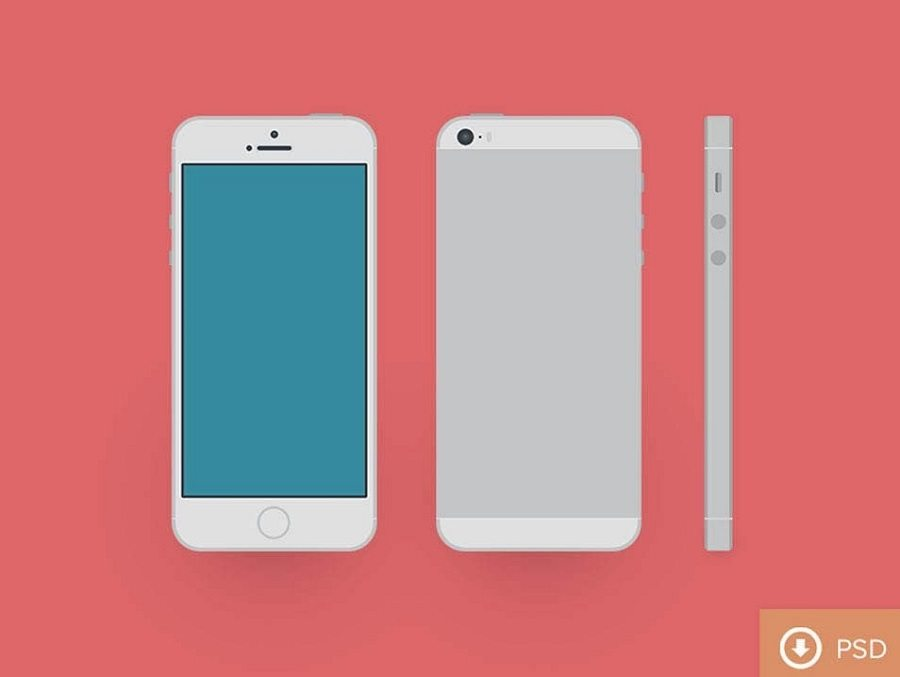 100 IPhone PSD Vector Mockups Design Shack