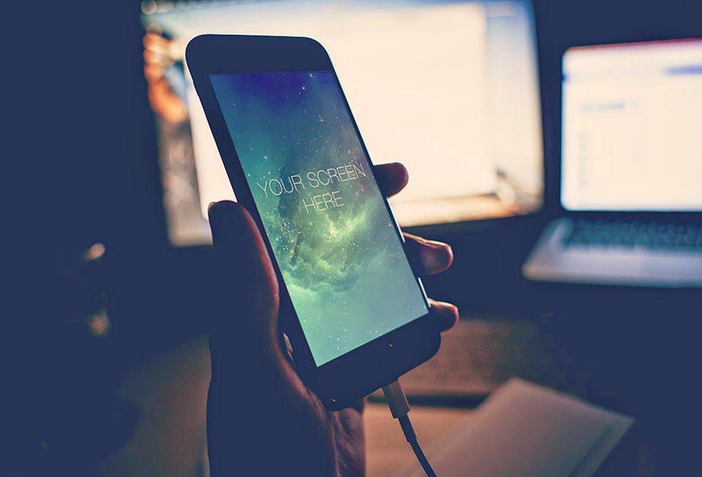 iphone6-1 100+ iPhone PSD & Vector Mockups design tips
